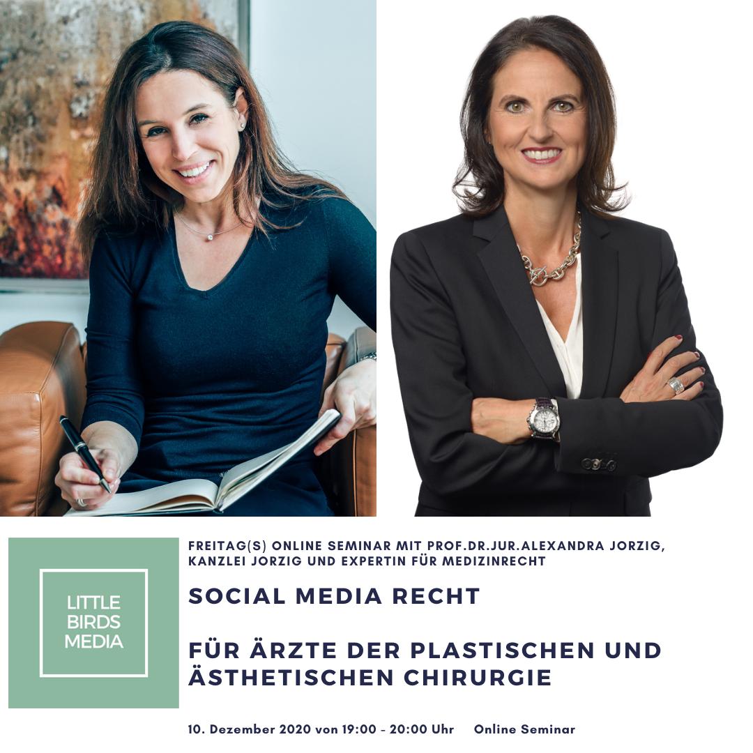 Social Media Recht für Plastische Chirurgen